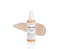 Увлажняющий тональный крем с коллагеном Collagen 3 in1 Whitening Moisture Foundation SPF 15 ENOUGH