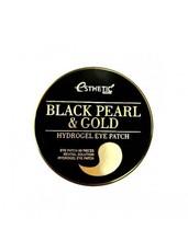 Гидрогелевые патчи для глаз с жемчугом и золотом ESTHETIC HOUSE Black Pearl & Gold Eye Patch
