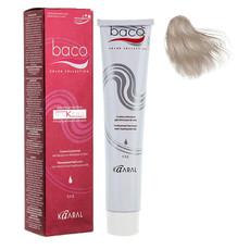 Стойкая крем-краска с гидролизатами шелка и кератином для особо седых волос Baco Color Collection Silkera Kaaral