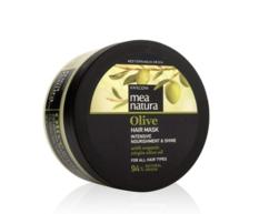 Питательная маска с оливковым маслом для всех типов волос MEA NATURA Olive Farcom