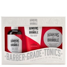 Набор Hawkins & Brimble Root to Tip Gift Set (Гель для умывания, гель для душа, паста для укладки волос)
