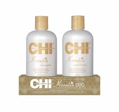 Набор CHI KERATIN The Gold Treatment: Shampoo 355ml + Conditioner 355ml
