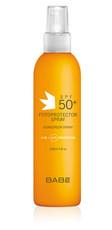Прозрачный влагоустойчивый солнцезащитный спрей SPF 50 TRANSPARENT SUNSCREEN WET SKIN SPF 50 LABORATORIOS BABE