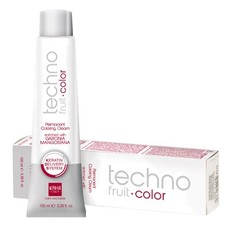 Крем-краска с кератином перманентная Technofruit color