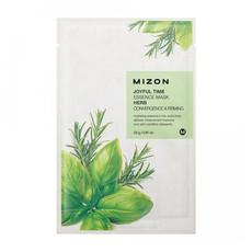 Тканевая маска для лица с комплексом травяных экстрактов MIZON Joyful Time Essence Mask Herb (5шт)