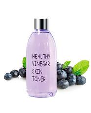 Тонер для лица ЧЕРНИКА Healthy vinegar skin toner (Blueberry) REAL SKIN